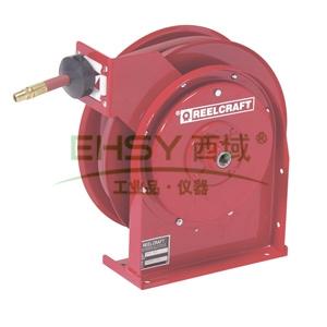 """Reelcraft中型低压输气/水卷轴,低压21bar,软管11M,内径1/4"""",B4435 OLP"""