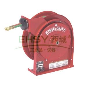 Reelcraft弹簧驱动气焊卷轴,低压,含18米软管,英制接头,TW7460 OLP