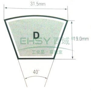 三星D型三角带,D102