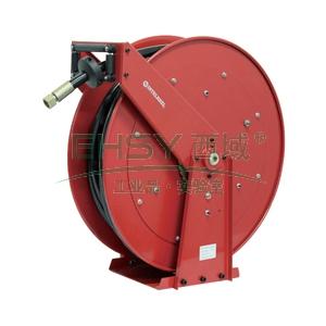"INTELREEL重型低压输气/水卷轴,低压20bar,软管15M,内径1"""