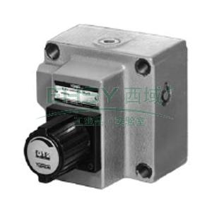 榆次油研 單向調速閥,最大調節流量8L/min,FCG-01-8-N-11