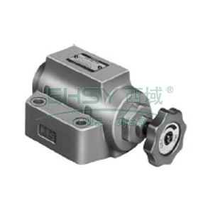 榆次油研 单向节流阀,额定流量30L/min,板式连接,SRCG-03-50