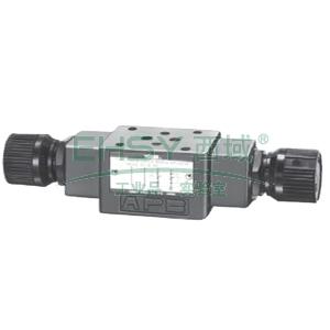 油研叠加式单向节流阀,MSW-01-X-30