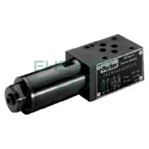 Parker,叠加式直动式减压溢流阀,PRDM系列,PRDM2AA06LVG