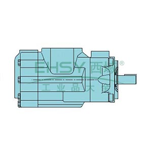 派克Parker 双联定量联叶片泵,054-36170-001Z