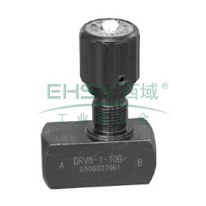华德液压,节流截止阀,板式,DVP6-1-10B/