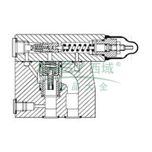 EatonVickers,先导式溢流阀,CG2V6GW10