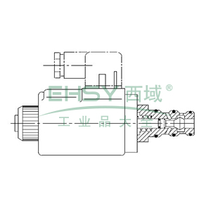 EatonVickers,电磁换向阀,插装式座阀,DG3VP3102AVMUH10