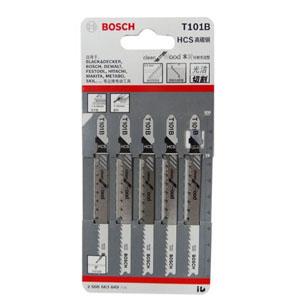 博世曲线锯条,快速去屑型(工具钢)T101B 5条/包,2608663849