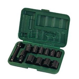 世达气动套筒套装,12.5MM系列 英制12件套 ,09008