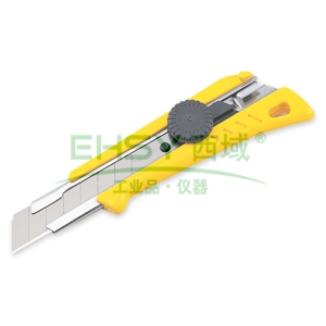 田岛美工刀,中型 18mm x 100mm 旋钮锁定, LC551B