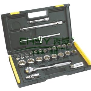 史丹利十二角套筒套装,12.5mm系列26件套,86-477-22