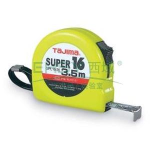 田岛钢卷尺,SUPER CONVE 16MM/3.5M 尼龙尺带 不锈钢弹簧
