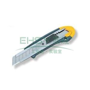 田岛铝合金美工刀, 带爪 黄绿色,ACL520FL/CHN