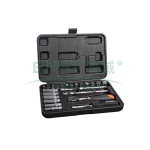 工具套装,25件套6.3mm系列公制组套,S010004