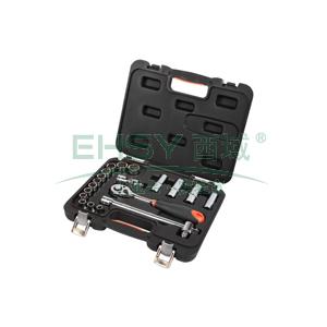 手工具套装,20件套12.5MM系列公制组套,S010020