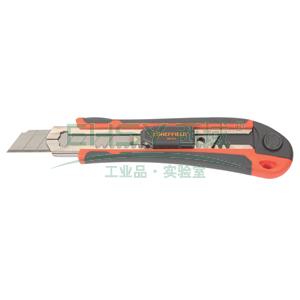 美工刀,18MM 含5片备用刀片,S067015