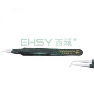 威汉防静电表面贴装镊子,直头 长120mm,32340