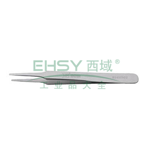 不锈钢宽头镊子,120×9×2mm,BS450902
