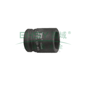 """波斯六角风动公制套筒,3/4""""系列17mm,BS365217"""