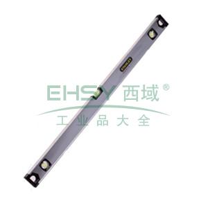 """史丹利 磁性三水泡铝合金水平尺,24"""",42-111-23"""