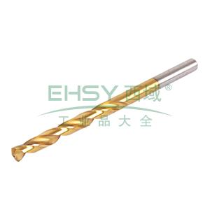 钢盾 直柄镀钛高速钢麻花钻8.0mm,S136025
