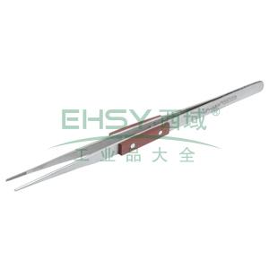 宝工 不锈钢细尖镊子,木柄(160mm),1PK-119T
