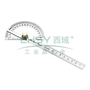 长城精工 多用金属量角尺,90*150mm,吸塑136012