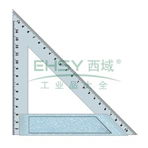 长城精工 多用金属三角尺,200mm,136120