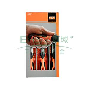 百固BAHCO锉刀组套,5支8寸粗齿,1-478-08-1-2,1 套
