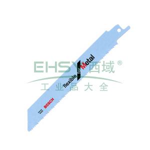 博世马刀锯片,S1136BEF(5) 金属切割劲锐型,齿距1.4+1.8mm,2608657524