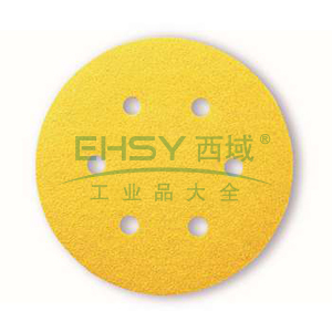 博世砂碟,背绒圆形 150mm 400目-6孔,2608608V45