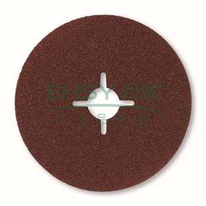 博世钢纸砂碟,100mm 60目 棕刚玉(金属专业型),2608608N94