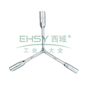 长城精工 三叉套筒扳手,12-14-17mm,428632