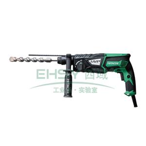 HiKOKI(原品牌名:日立)电锤钻,28mm 转速0-1100/min 锤击率0-4300/min,DH28PBY