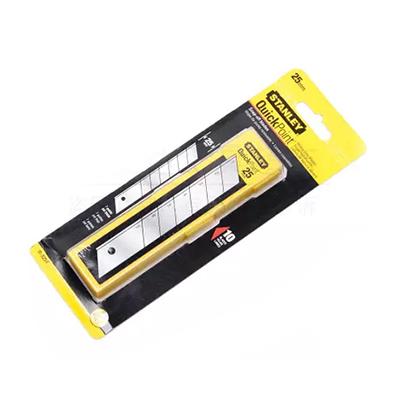史丹利美工刀刀片,25mm(10片),11-325T-11C