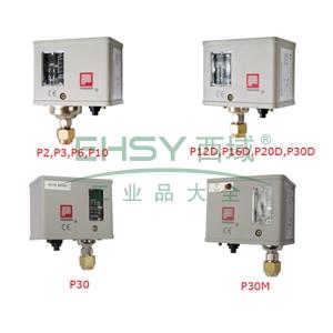 压力控制器,奉申,低压,pc6,-0.05→0.6mpa,自动复位