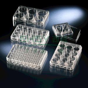 多孔悬浮细胞培养板,聚苯乙烯,带盖,已灭菌,孔数,6