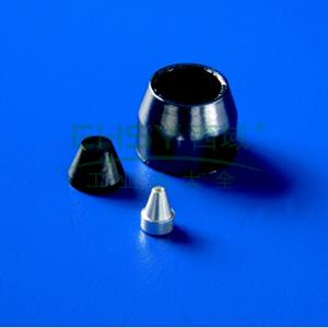 刃环, 15/85 石墨/Vespel, 0.1-0.25 Agilent