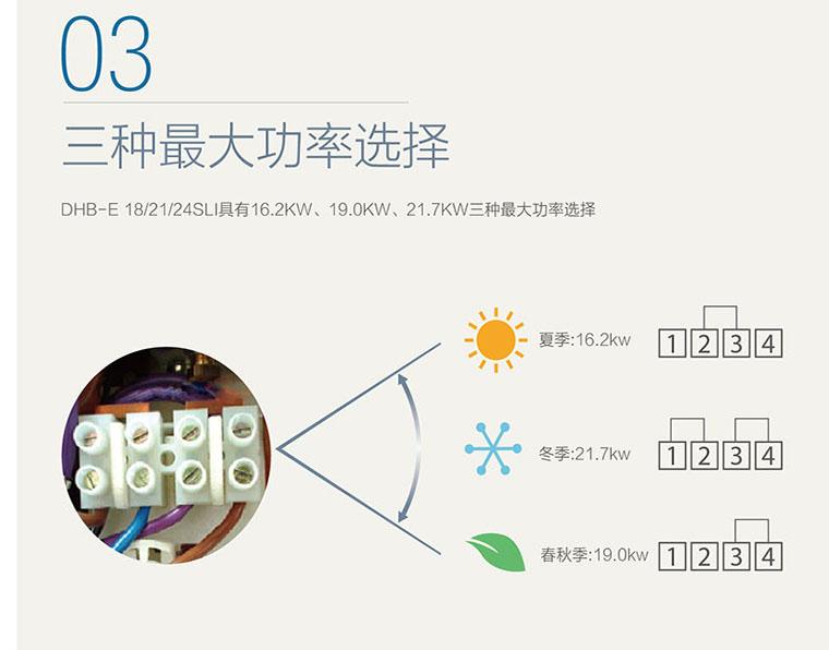 电子恒温无级温度即热式三相电热水器,斯宝亚创,dhb-e