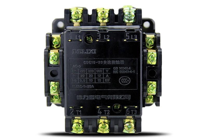 德力西 交流线圈接触器,cdc10-150 22 110v,cdc1015022f