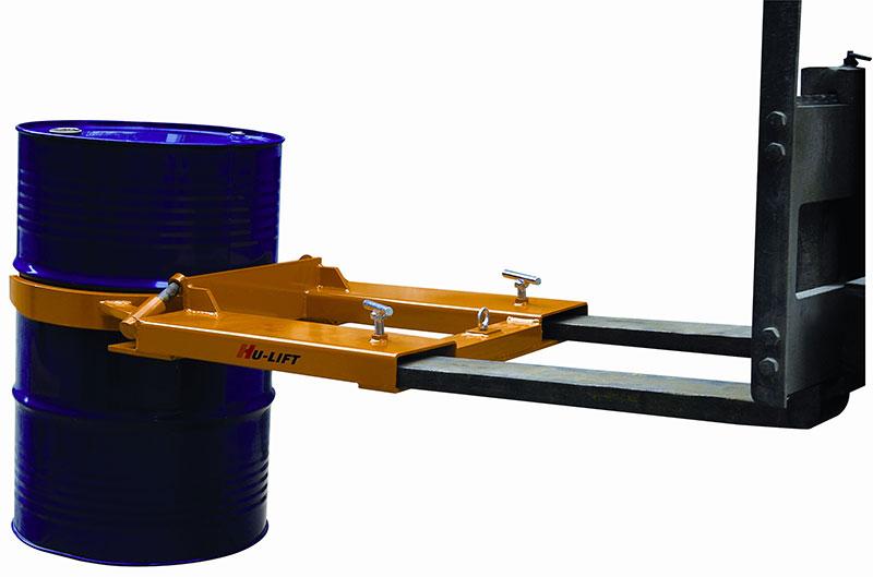 油桶搬运夹 ,抱箍式叉车专用900kg