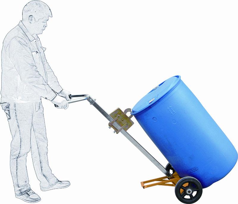 油桶搬运小车,载重:450kg