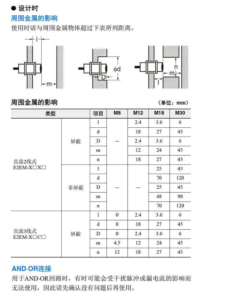 产品介绍overview 长距离型接近传感器  最长为30mm的长距离检测,可
