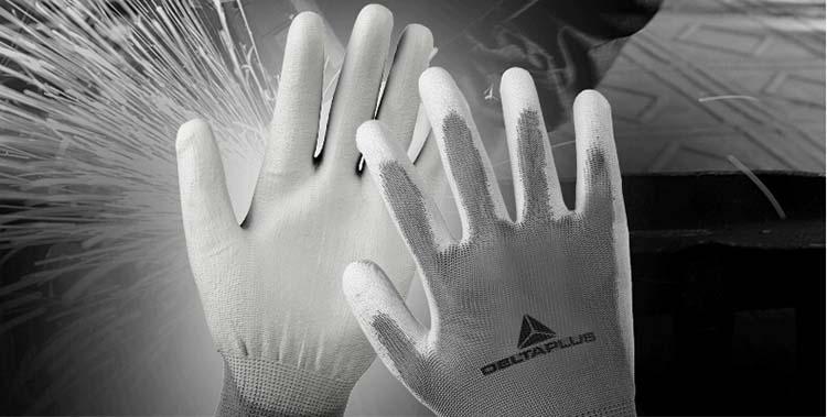 代尔塔 201706-8 无硅pu耐脏精细操作手套