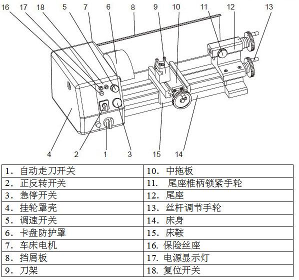 车床主轴锥度结构图