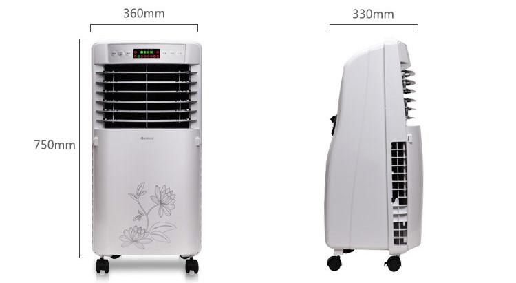 格力 遥控冷风扇/空调扇,ks-0505d-wg白
