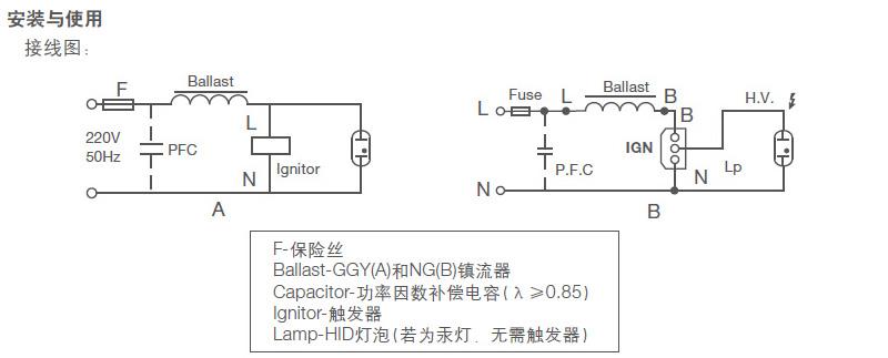 欧司朗 1000w 大功率钠灯 铜芯镇流器,ng1000zt,整箱