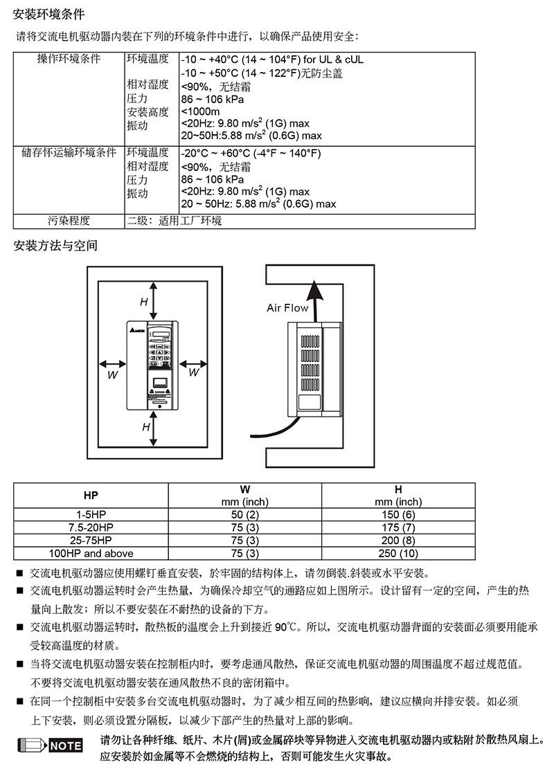 台达/delta vfd550b43c变频器