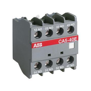 ABB 接触器4常闭辅助触点,CA5-04E